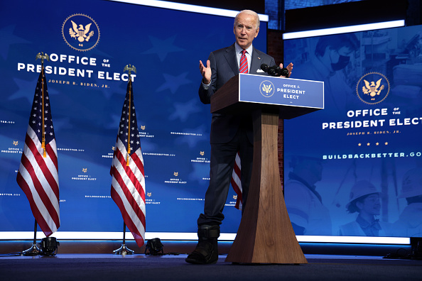Alex Wong「President-Elect Biden Delivers Remarks On Final Jobs Report Of 2020」:写真・画像(6)[壁紙.com]