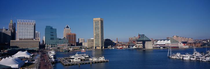 Entertainment Tent「Inner Harbor and Baltimore Skyline」:スマホ壁紙(2)