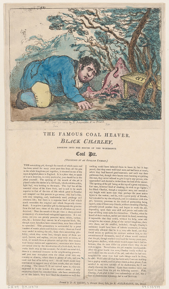 Etching「The Famous Coal Heaver Black Charley Looking Into The Mouth Of The Wonderful」:写真・画像(2)[壁紙.com]