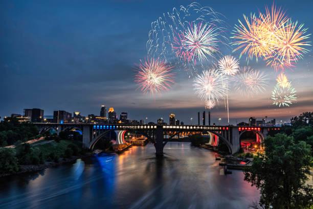 ミネアポリス - 花火 7 月 4 日の - 2018:スマホ壁紙(壁紙.com)
