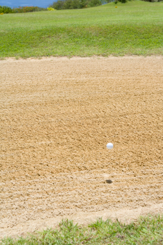 Sand Trap「Golf Ball Over Bunker」:スマホ壁紙(6)