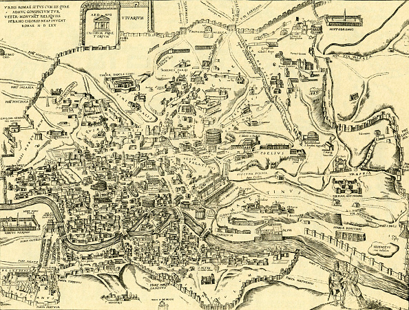 History「Map of City of Rome and its ancient monuments」:写真・画像(3)[壁紙.com]