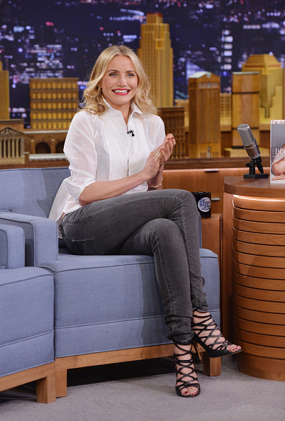 """Mike Coppola「Cameron Diaz And Ralph Fiennes Visit """"The Tonight Show Starring Jimmy Fallon""""」:写真・画像(7)[壁紙.com]"""