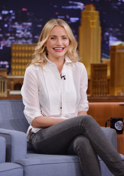 """Mike Coppola「Cameron Diaz And Ralph Fiennes Visit """"The Tonight Show Starring Jimmy Fallon""""」:写真・画像(5)[壁紙.com]"""