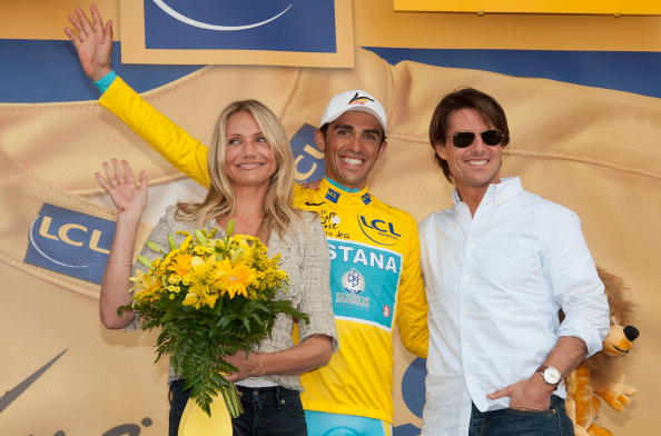 Bouquet「Tom Cruise And Cameron Diaz Attend The Eighteen Stage Of Le Tour」:写真・画像(5)[壁紙.com]