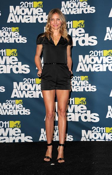 Ankle Strap Shoe「2011 MTV Movie Awards - Press Room」:写真・画像(11)[壁紙.com]