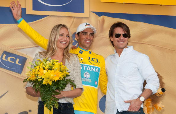 Bouquet「Tom Cruise And Cameron Diaz Attend The Eighteen Stage Of Le Tour」:写真・画像(4)[壁紙.com]