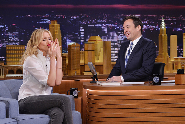 """Mike Coppola「Cameron Diaz And Ralph Fiennes Visit """"The Tonight Show Starring Jimmy Fallon""""」:写真・画像(8)[壁紙.com]"""