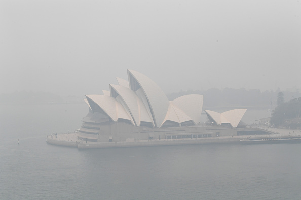 Sydney「Smoke Haze Over Sydney As Fire Danger Risk Heightens」:写真・画像(18)[壁紙.com]