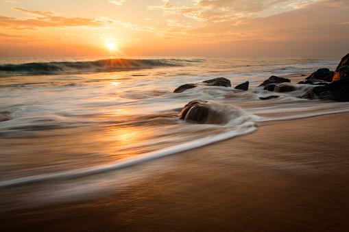 Zen-like「Sunset landscape」:スマホ壁紙(6)