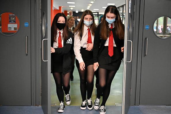UK「Scottish Pupils Return To School After Lockdown」:写真・画像(9)[壁紙.com]