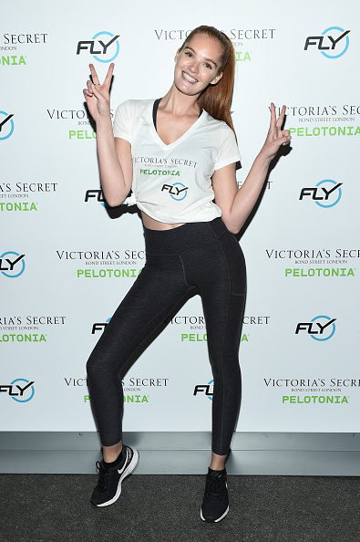 Victoria's Secret「Victoria's Secret Angel Cycle To End Cancer Hosted By Angels Martha Hunt, Josephine Skriver, Alexina Graham, Chey Carty, Gizele Oliveira, Josie Conseco, Lorena Duran And Sofie Rovenstine At Flywheel」:写真・画像(7)[壁紙.com]