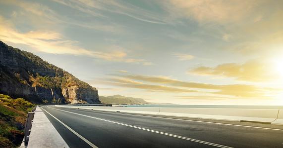 Tranquility「Ocean road」:スマホ壁紙(18)