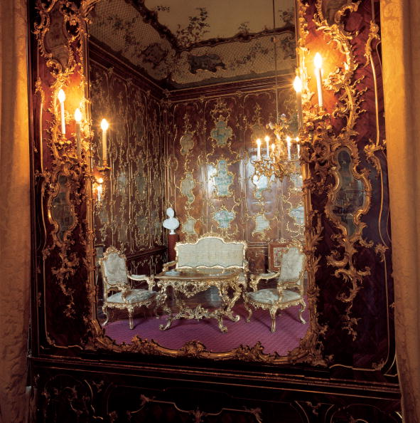 Baroque Style「The Millionenzimmer (million room, also: vicatin cabinet) in Castle Schoenbrunn」:写真・画像(9)[壁紙.com]