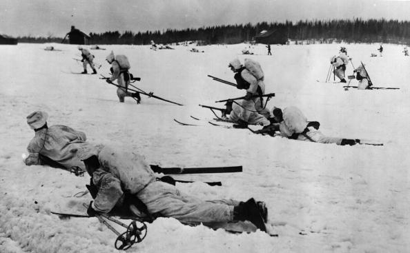 Winter「Infantry On Skis」:写真・画像(6)[壁紙.com]