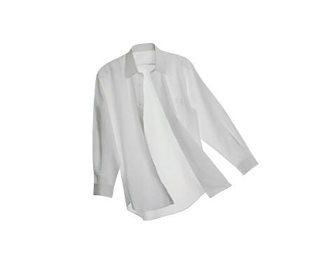 Shirt「A White Button Down Shirt on a White Background」:スマホ壁紙(5)