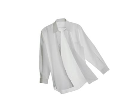Laundry「A White Button Down Shirt on a White Background」:スマホ壁紙(1)