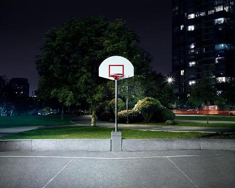 Light Trail「Outdoor Basketball Hoop」:スマホ壁紙(0)