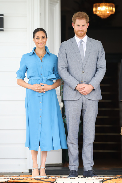 Day 2「The Duke And Duchess Of Sussex Visit Tonga - Day 2」:写真・画像(5)[壁紙.com]