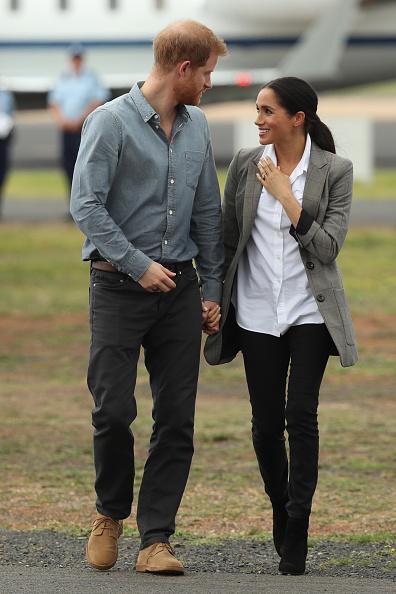 Blazer - Jacket「The Duke And Duchess Of Sussex Visit Australia - Day 2」:写真・画像(13)[壁紙.com]