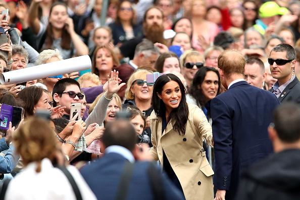 Greeting「The Duke And Duchess Of Sussex Visit Australia - Day 3」:写真・画像(1)[壁紙.com]