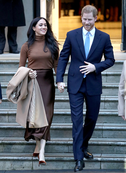Brown「The Duke And Duchess Of Sussex Visit Canada House」:写真・画像(16)[壁紙.com]