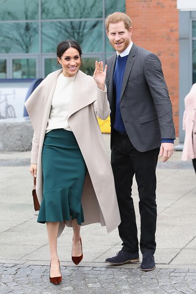 Vertical「Prince Harry And Meghan Markle Visit Northern Ireland」:写真・画像(17)[壁紙.com]