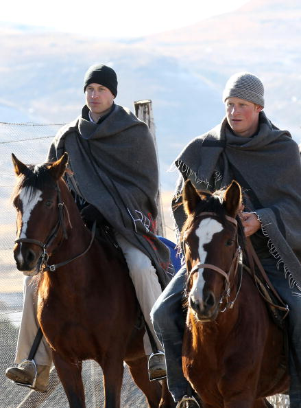 Horse「Prince William And Harry Visit Lesotho - Day 2」:写真・画像(7)[壁紙.com]