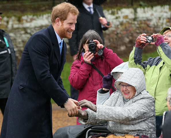 King's Lynn「The Royal Family Attend Church On Christmas Day」:写真・画像(19)[壁紙.com]
