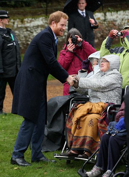 King's Lynn「The Royal Family Attend Church On Christmas Day」:写真・画像(17)[壁紙.com]
