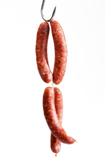 Hook - Equipment「Minced pork sausage on butcher´s hook」:スマホ壁紙(19)