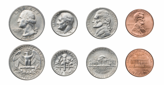 US Currency「US Coins」:スマホ壁紙(7)
