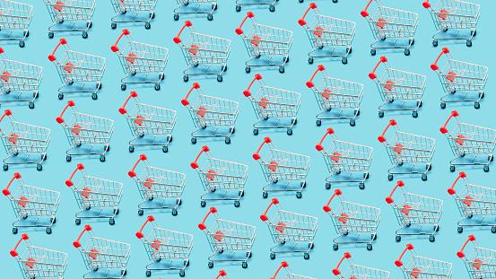 Continuity「Many shopping carts」:スマホ壁紙(17)