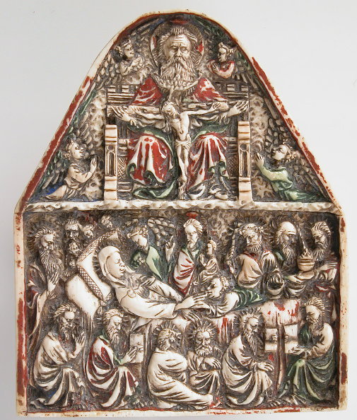 Virgin Mary「Plaque With The Trinity And The Dormition Of The Virgin」:写真・画像(5)[壁紙.com]
