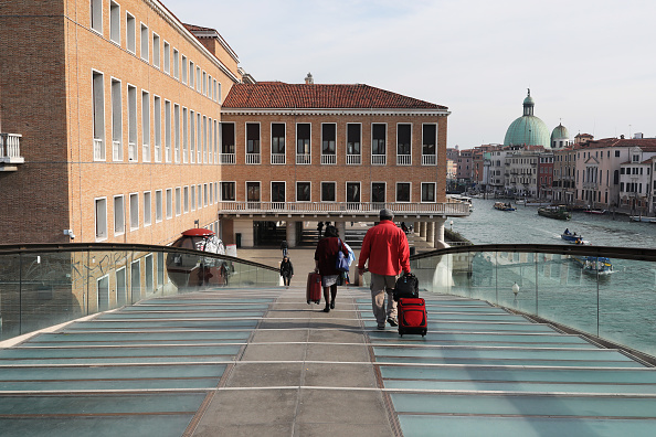 Tourist「Venice Hauntingly Quiet Amid COVID-19 Quarantine」:写真・画像(12)[壁紙.com]