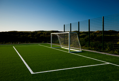 Yard Line - Sport「Soccer goal at sunset」:スマホ壁紙(16)