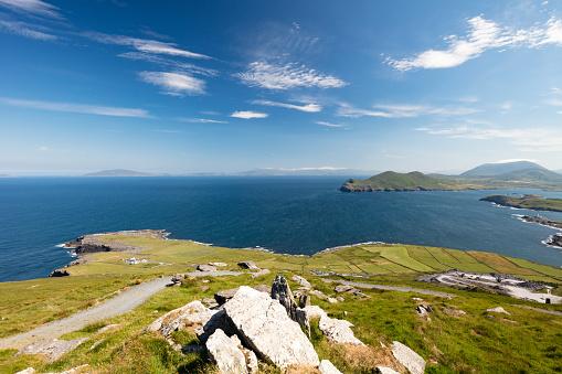 Northern Ireland「Geokaun mountain and Fogher Cliffs, Valentia Island, Ireland」:スマホ壁紙(19)