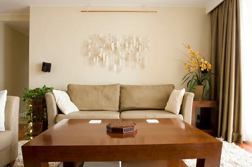 Coffee Table「Serene Living Room」:スマホ壁紙(8)