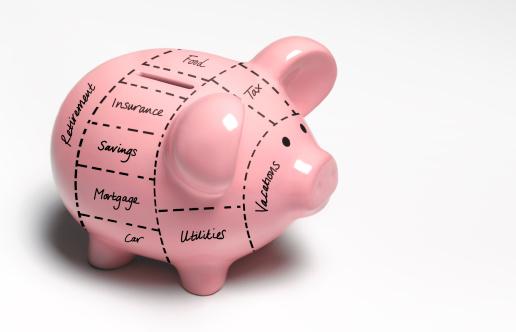Budget「Financial piggy bank decisions」:スマホ壁紙(19)