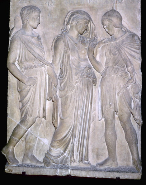 Model - Object「Roman replica of a Greek relief of Orpheus and Eurydice.」:写真・画像(17)[壁紙.com]