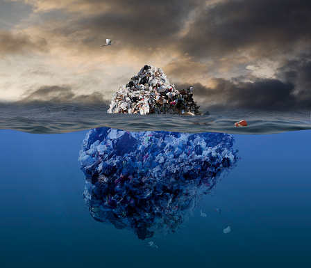 Digital Composite「Garbage Iceberg」:スマホ壁紙(11)