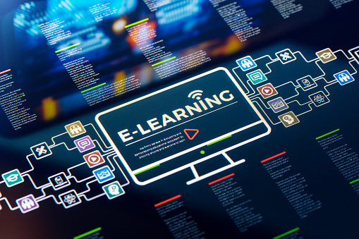 E-Learning「E-Learning presentation and infographics」:スマホ壁紙(18)
