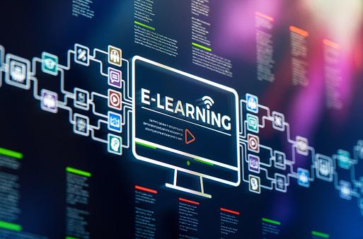 E-Learning「E-Learning presentation and infographics」:スマホ壁紙(10)