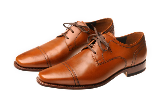 Shoe「Brown leather shoes」:スマホ壁紙(4)