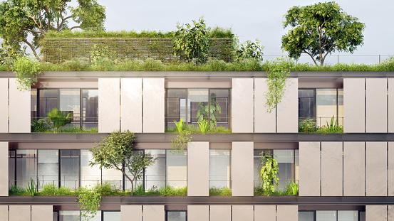 Ecosystem「Green building」:スマホ壁紙(16)
