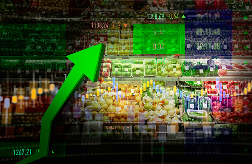 Inflation「Grocer Shopping Rise」:スマホ壁紙(8)