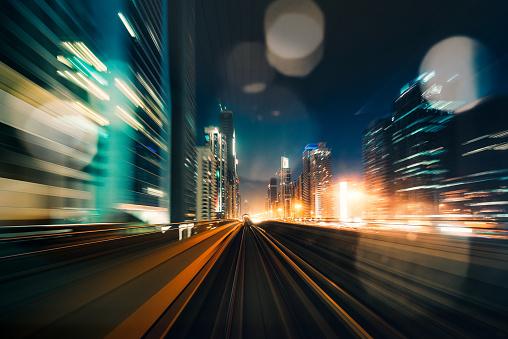 Light Trail「Dubai Speed motion」:スマホ壁紙(3)