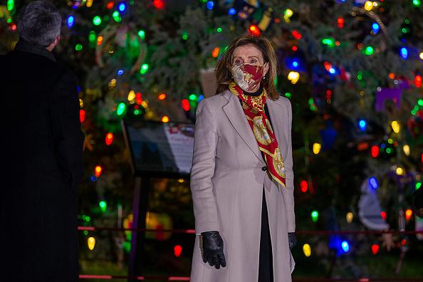 Tree「Speaker Pelosi Hosts US Capitol Christmas Tree Lighting Ceremony」:写真・画像(8)[壁紙.com]