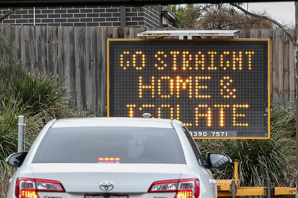 Melbourne - Australia「Melbourne COVID-19 Hotspot Suburbs In Lockdown Following Rise In Community Coronavirus Transmissions」:写真・画像(1)[壁紙.com]