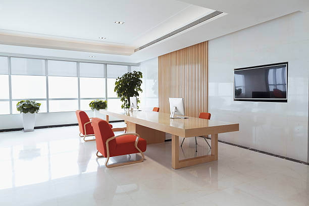 View of office reception area:スマホ壁紙(壁紙.com)